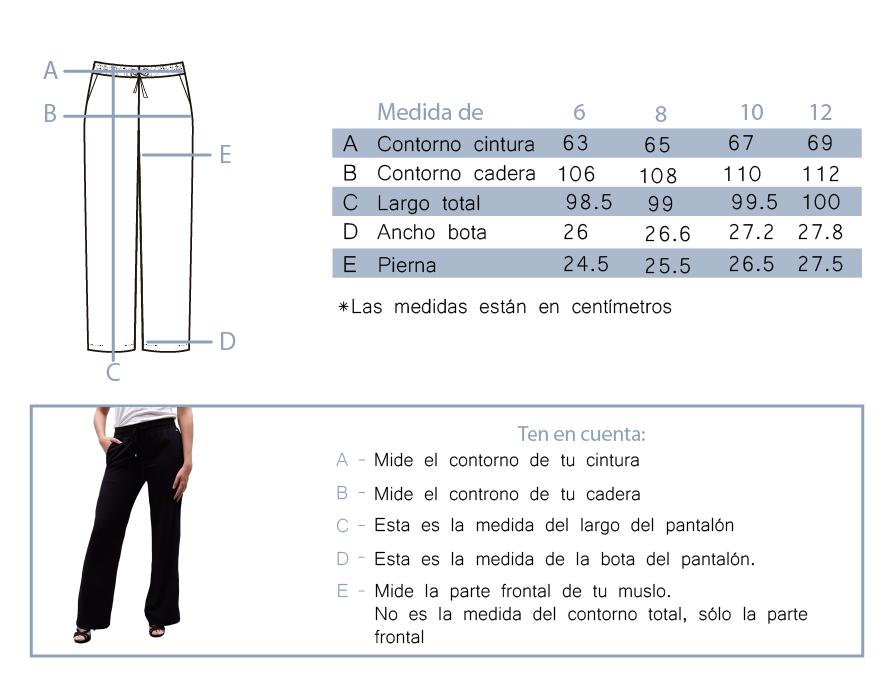 Pantalón 3578 Tinta